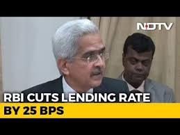 RBI Cuts Key Interest Rate Week Before Election, Loans Set To Get Cheaper